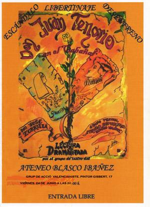 """Representación de """"Don Juan Tenorio"""""""