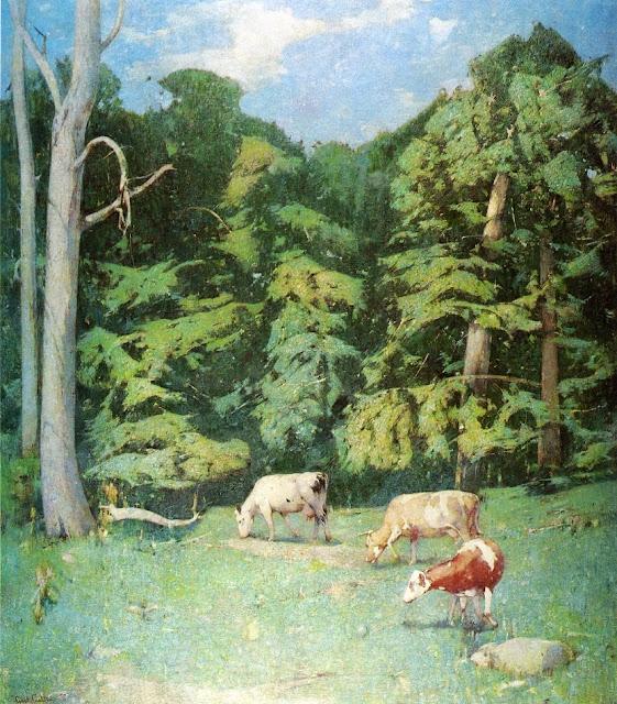 Emil Carlsen - Wood Pasture