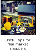 tips for flea market shoppers