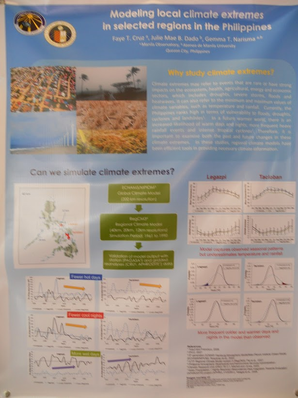 LEAN CC Poster: Modelling local climate extremes in selected regions in the Philippines