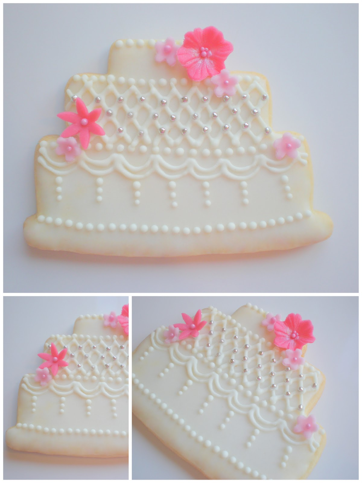 wedding cake cookie favors