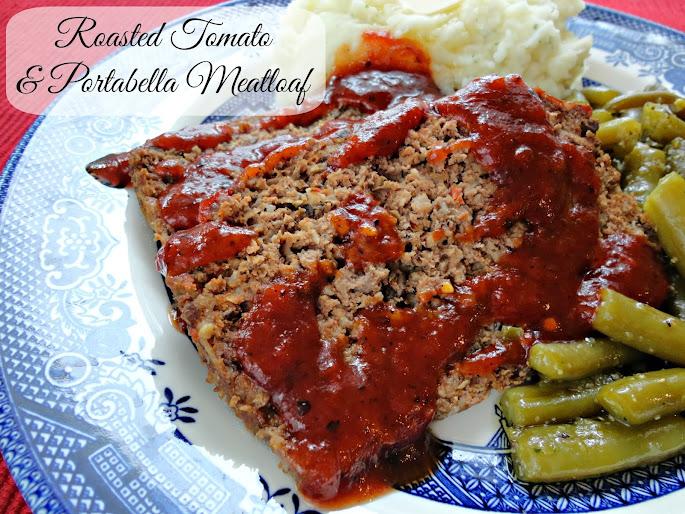 roasted tomato & portabella meatloaf