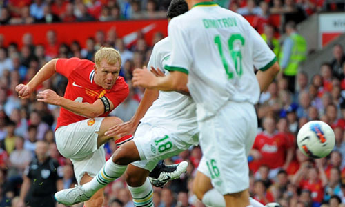Testimonial Match for Paul Scholes, Manchester United - New York Cosmos