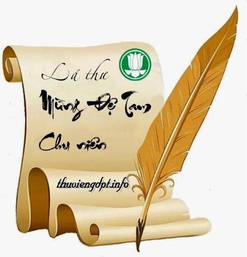 Lá thư mừng Đệ Tam Chu Niên