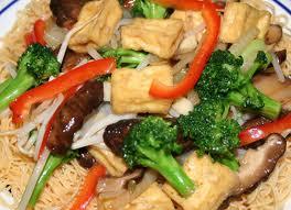 MÌ XÀO CHAY – MIẾN XÀO CHAY Vegetarian stir-fried noodles / vermicelli Vermicelles sautées végétarien