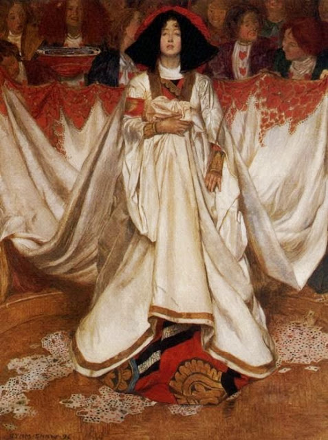 Byam Shaw - The Queen of Hearts