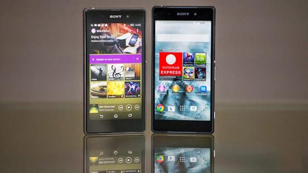 Sony Xperia Z2 vs. Sony Xperia Z1