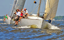J/35 sailing Leukemia Cup in Annapolis, MD