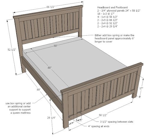 Queen Size Bed Frame Dimensions
