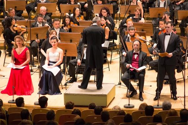 Principele Nicolae și Principesa Maria la concertul regal de la Sala Radio, 9 mai 2014