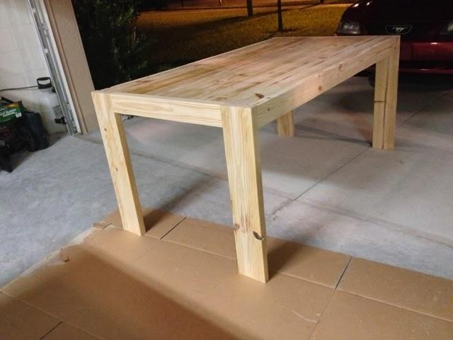 Farmhouse Table Plans Diy Modern Farmhouse Table