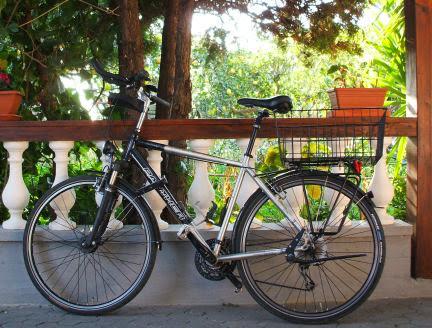 Chris on the Bike # Malta - Bari # Ausrüstung