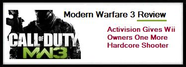 Modern Warfare 3 Wii Review