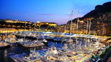 J/70s sailing Yacht Club de Monaco Primo Cup- off Monte Carlo