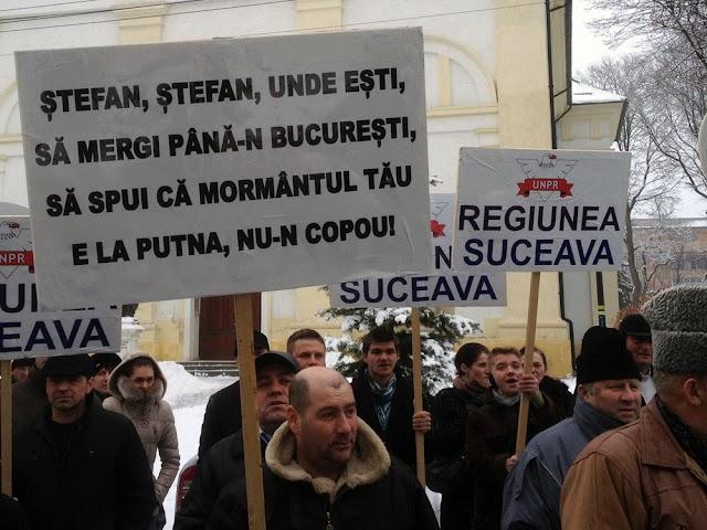 FOTO| Miting pentru Regiunea Suceava