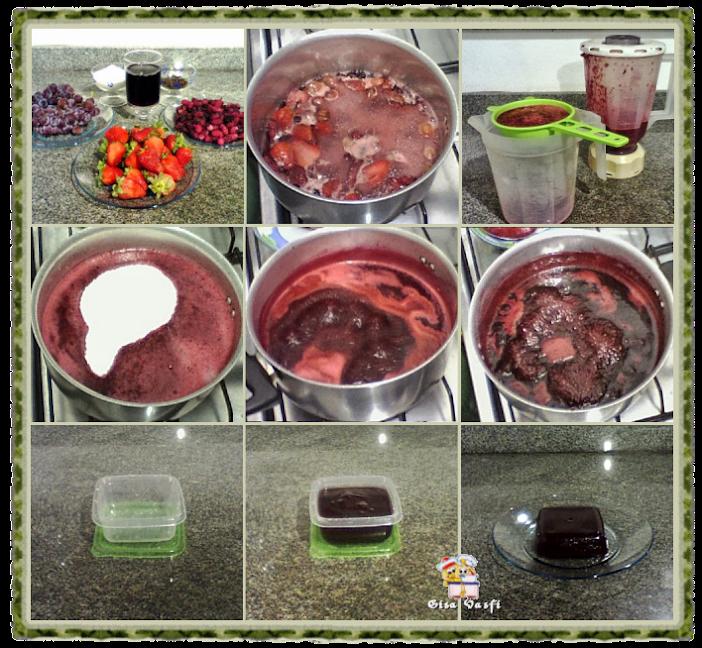 Doce de frutas vermelhas em barra 2
