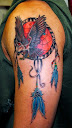 dreamcatcher tattoos on arm 4