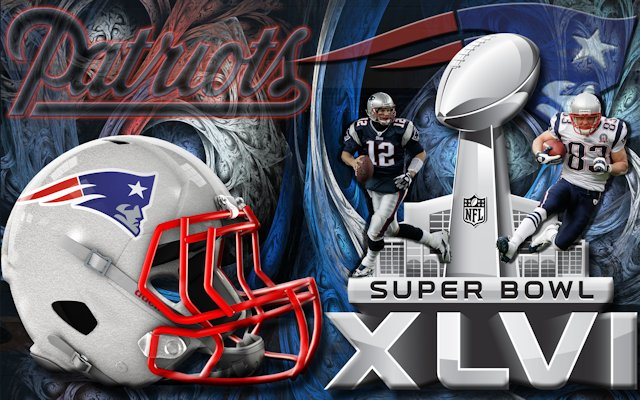 New England Patriots Super Bowl Wallpaper