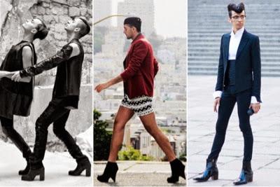 Kempen Terbaru NGO wanita mahu lelaki pakai tumit tinggi Program itu dinamakan Men in Heels Walk mile in her shoes