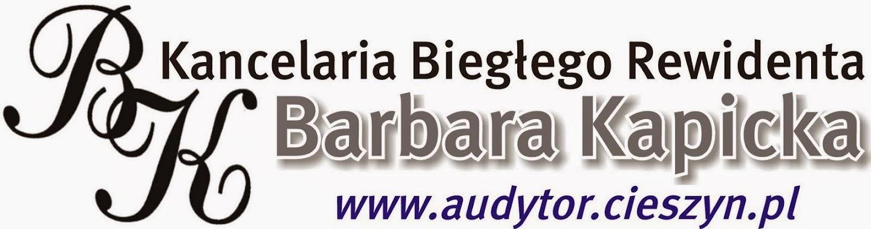 Kancelaria Biegłego Rewidenta Barbara Kapicka