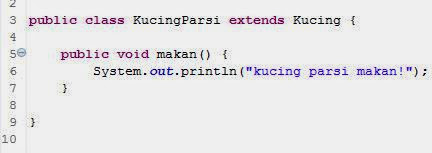 class KucingParsi