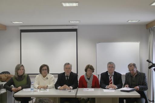 Conferência de imprensa de apresentação de medidas em conjunto para responder aos casos de gripe (foto Adriana Aguiar)