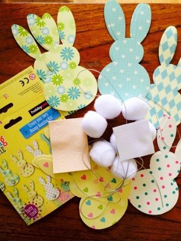 Hobbycraft Bunny Bunting