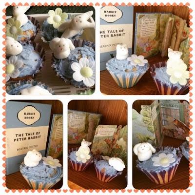 Peter Rabbit Cupcakes #tastytales