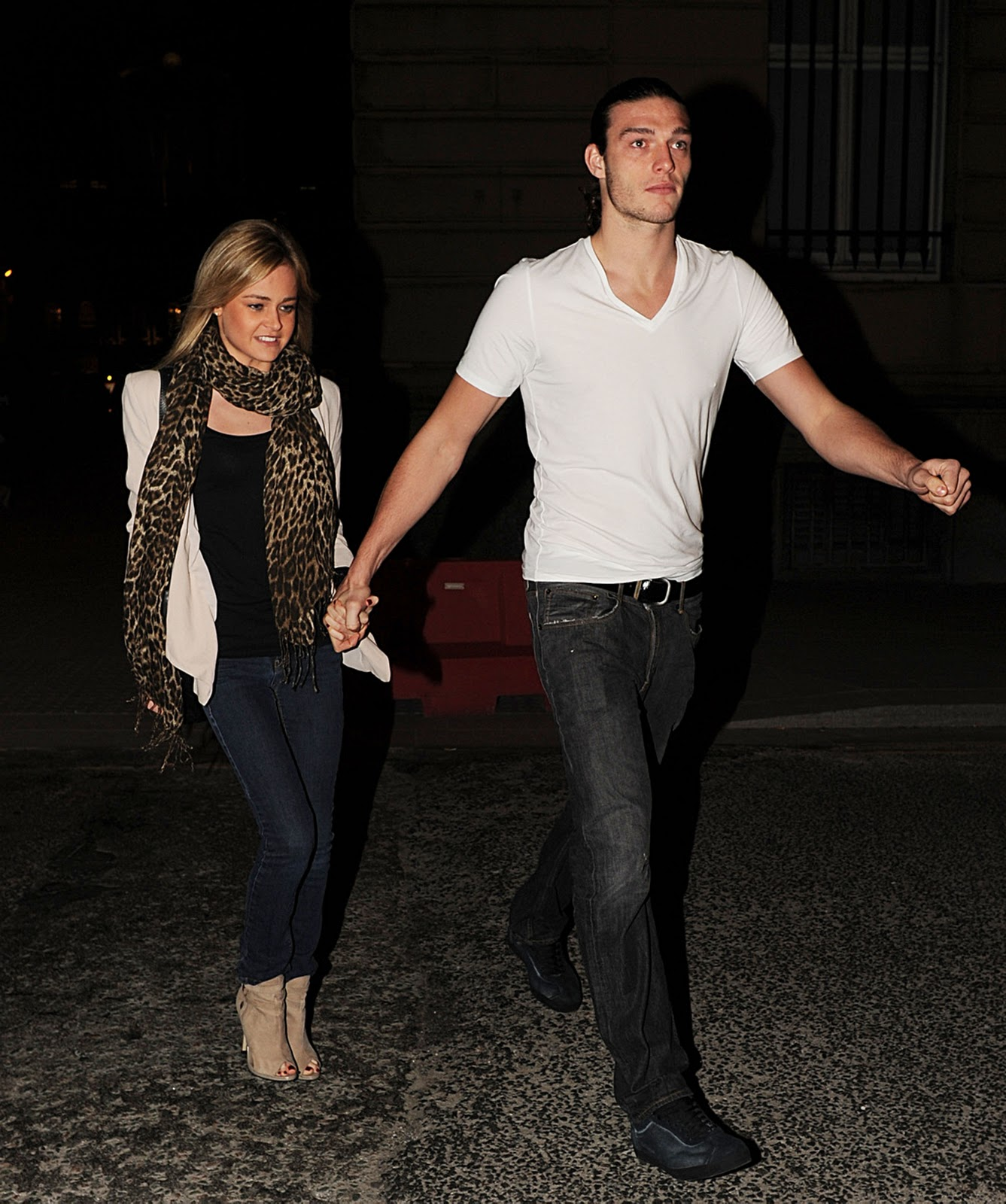 Football Bebe: Andy Carroll and Stacey Miller - Dine In ...