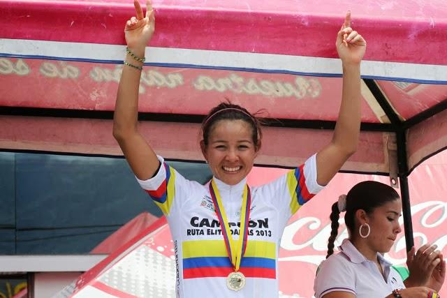 Lorena Vargas. La ciclista de ruta ha participado en eventos nacionales e internacionales. Actualmente se encuentra en territorio europeo corriendo con el equipo Pasta Zara Cogeas. Campeona Suramericana en Medellín 2010 con tres medallas de oro.