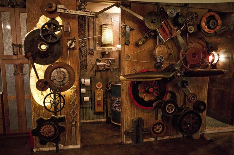 steampunk interior images