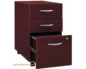 Tủ di động MDF veneer SM0102