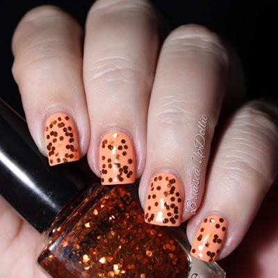 Barielle Orange Flame swatch