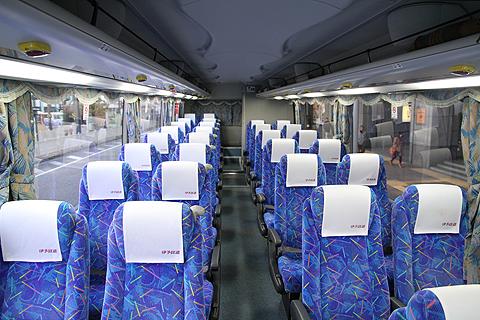 伊予鉄道「ハーバーライナー」  5251 車内