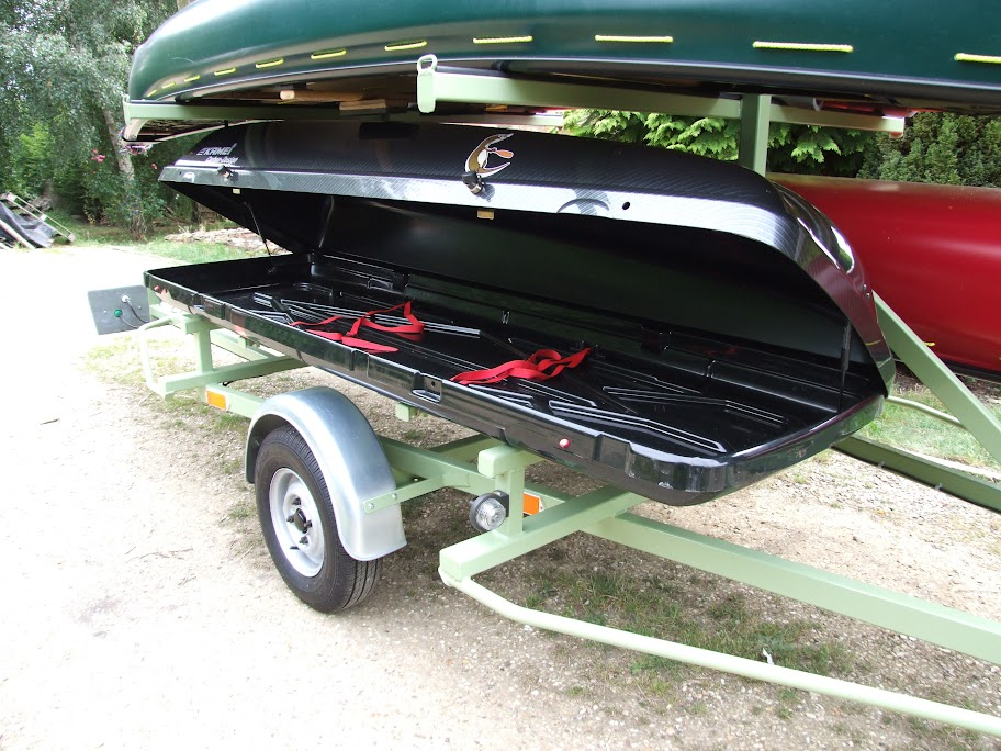 Professional Built Custom Canoe Trailer For Sale