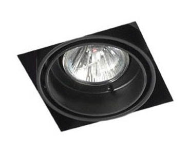 The Multidir Trimless LX621 - square low voltage MR16 50W single lamp, architectural downlight