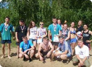 10 июня прошел чемпионат по пляжному волейболу на «Кубок молодежного Совета Конаковского района 2012 года