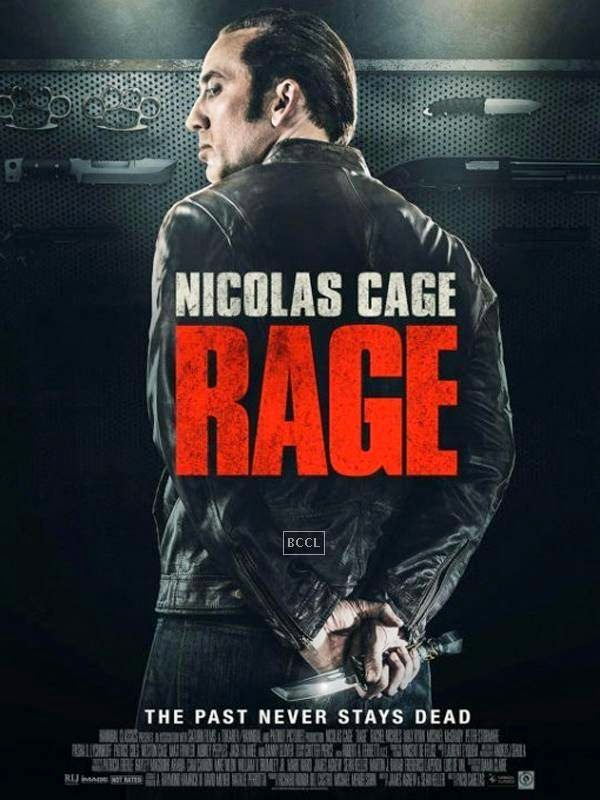 Poster of Hollywood action crime thriller Rage.