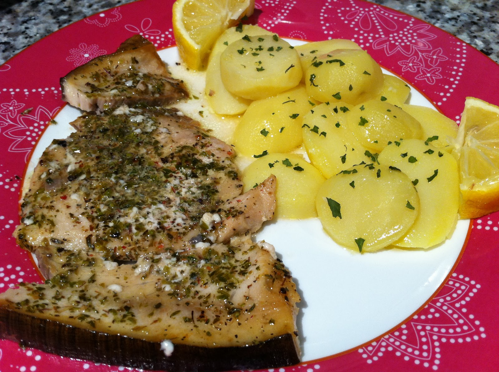 Las recetas de cocina de sofyleon emperador al aceite de for Cocinar emperador