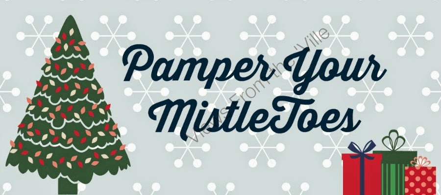 Free Printable Pamper Your MistleToes Gift Tag