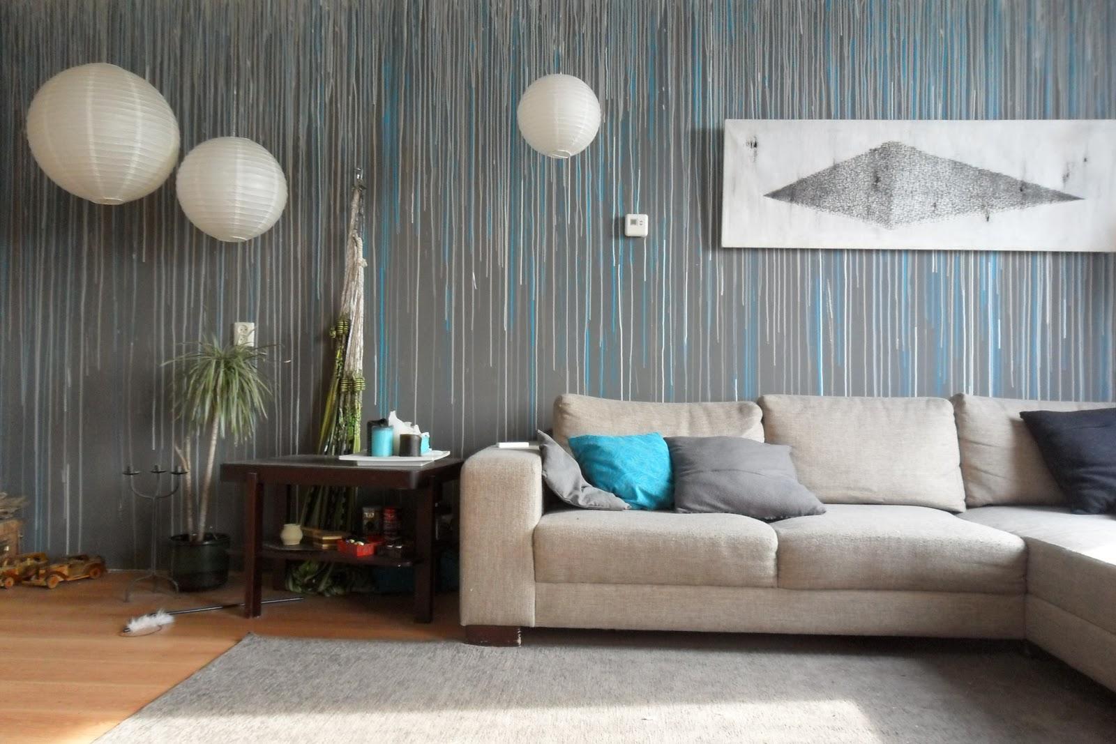 Portfolio: Muurschildering woonkamer