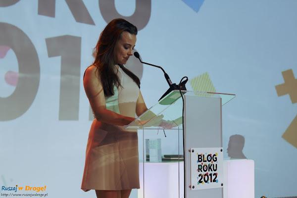 gala blog roku onet 2012 - anna mucha ogłasza zwycięzców