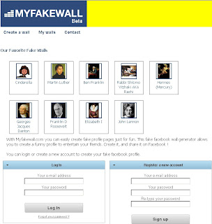 MyFakeWall.com – Fool your friends and have fun