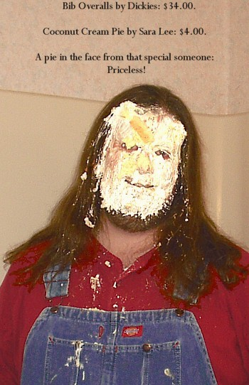 Pie in the face: Priceless!