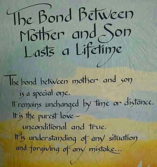 Wallpapers Quotes And Fun: The Bond Between Mother and Son ...