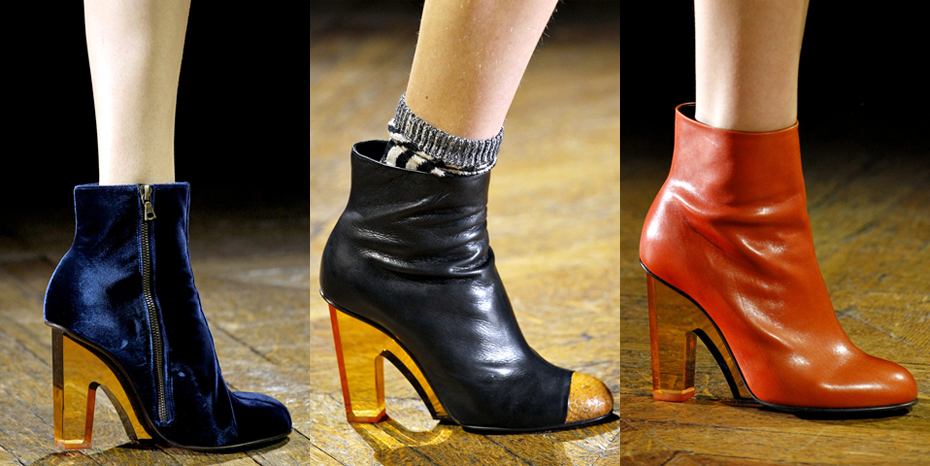 the tailoress: best of dries van noten fall 2011 ankle boots times ...