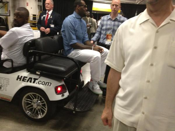King8217s Feet LeBron Rocks Nike Air Yeezy IIs After Game Seven