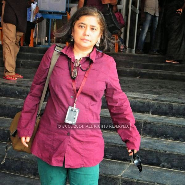 Shashwati Talukdar during the  International Documentary and Short Film Festival that was held at Trivandrum.