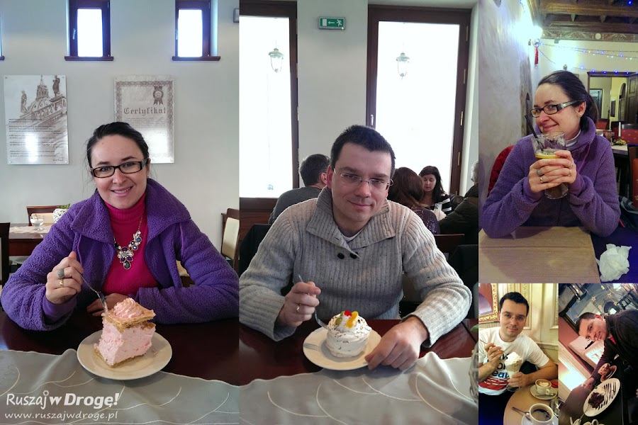 Krakowskie przysmaki - kawa i ciastka