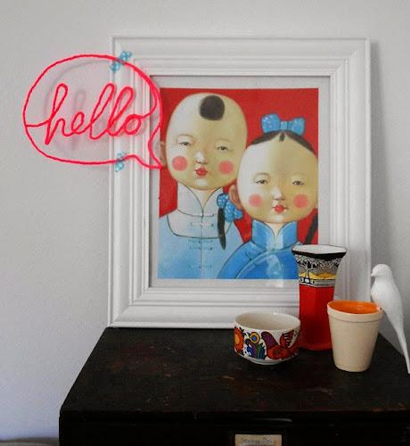la reines blog mit draht basteln wanddekoration selbstgemacht. Black Bedroom Furniture Sets. Home Design Ideas